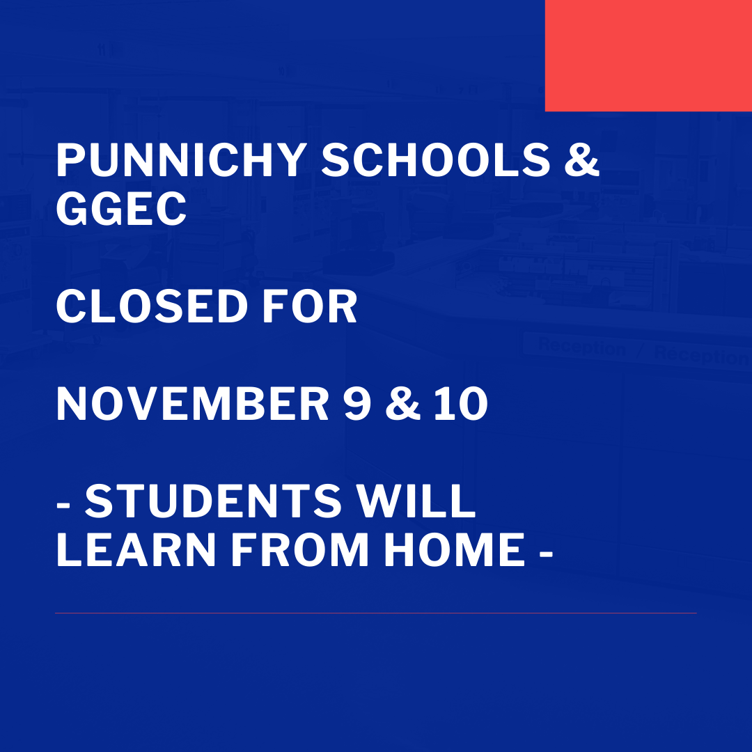 Punnichy GGEC Closed Nov 9 and 10.png