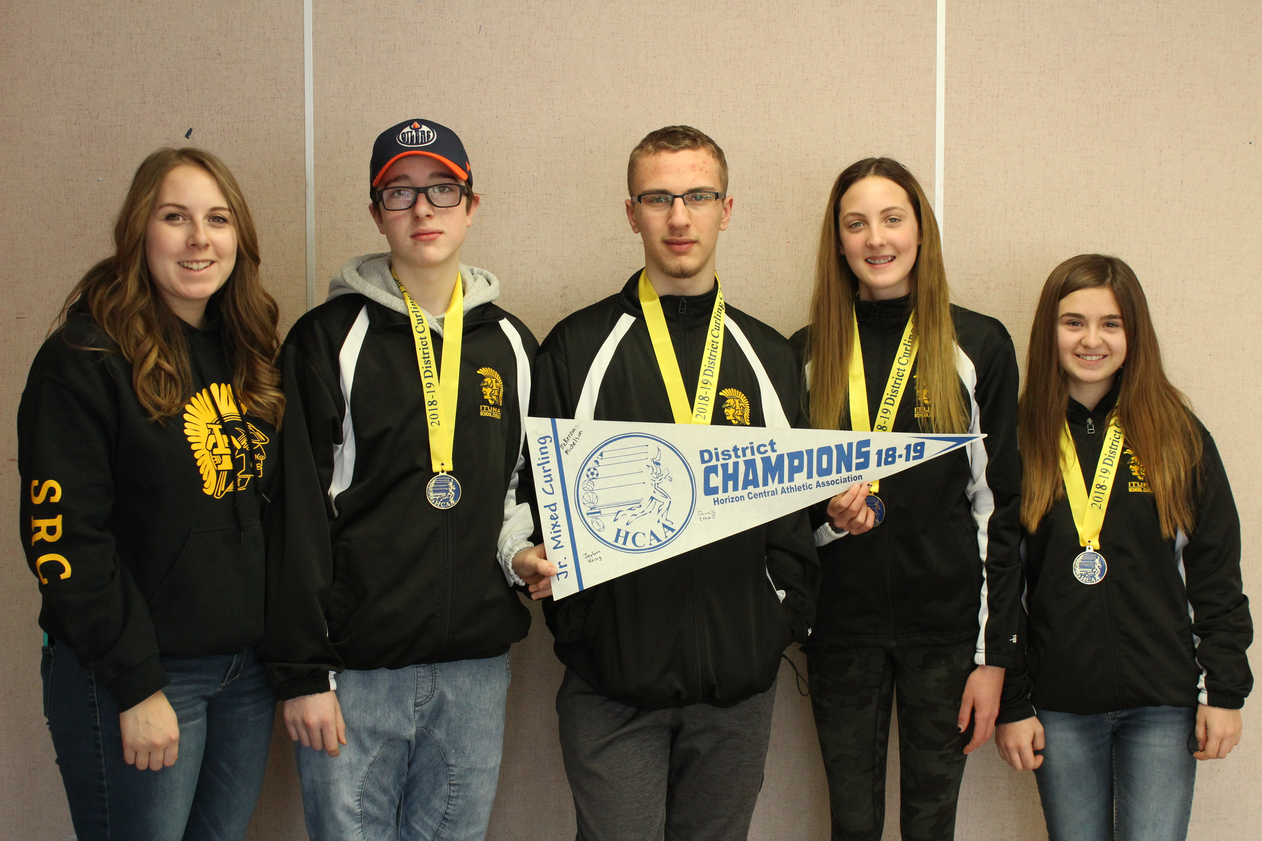 Jr Curling Wins Districts