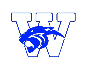 Wildcat Logo 2016 Blue over White